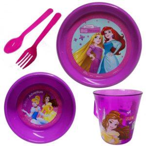 Vajilla Princesas de Disney