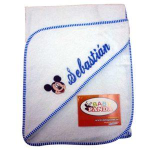 toalla personalizada para bebe