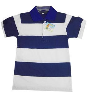 Camiseta con cuello para niños