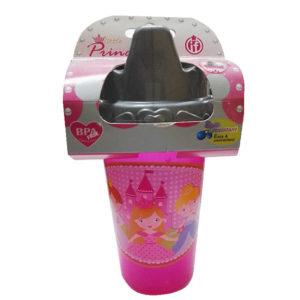 Vaso Entrenador Princesa rosado