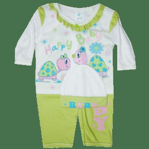 Conjunto para niña verde