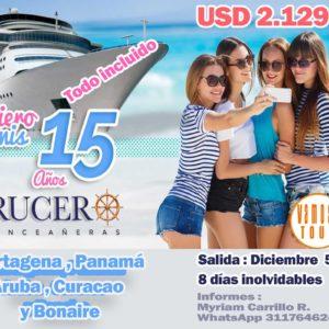Crucero de quinceañeras por el Caribe