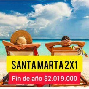 Santa Marta 2 x 1