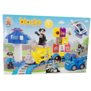 Blocks police para armar