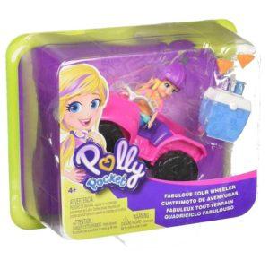 Polly Pocket cuatrimoto