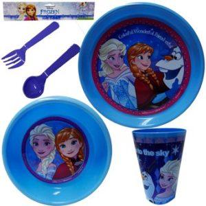 Vajilla Frozen de Disney para niñas