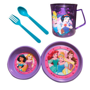 Vajilla Princesas de Disney para niñas